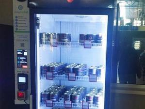 На красноярском автовокзале появился «умный» холодильник