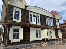 Первый отреставрированный дом «Исторического квартала» Красноярска почти готов