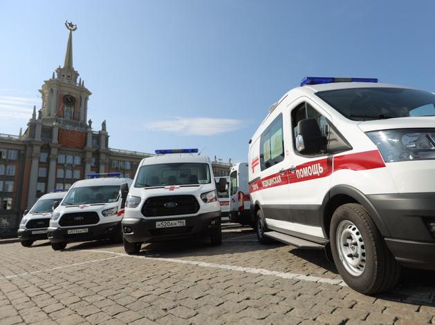 Предприниматели подарили Екатеринбургу тридцать машин скорой помощи