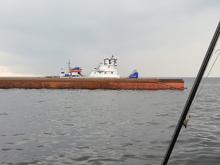 Затонул сухогруз, плывший из Череповца в Нижний Новгород. Часть экипажа пропала без вести