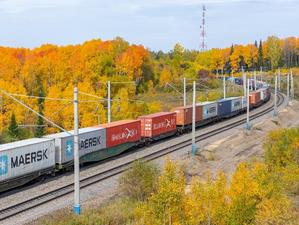 Темпы роста контейнерных перевозок по КрасЖД продолжают отставать от прошлогодних