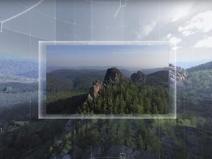 «Прогуляться» по национальному парку «Красноярские Столбы» можно из любой точки мира
