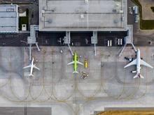 В красноярском аэропорту подрос пассажиропоток