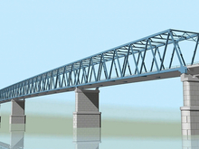Предприятия Красноярского края поставят комплектующие для нового моста через Енисей
