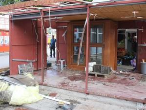 В Октябрьском районе снесли 12 павильонов