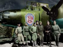 На дне Енисея найден обломок американского бомбардировщика