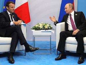 Путин — Макрону: Навальный мог сам принять «Новичок». Главное 22 сентября