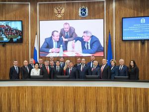 Законодательное собрание Ямала возглавит Сергей Ямкин