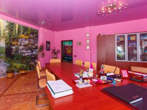 Офисные помещения в розово-голубых тонах выставили на продажу в Новосибирске