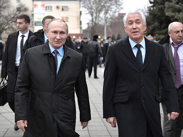 Владимир Путин и Владимир Васильев