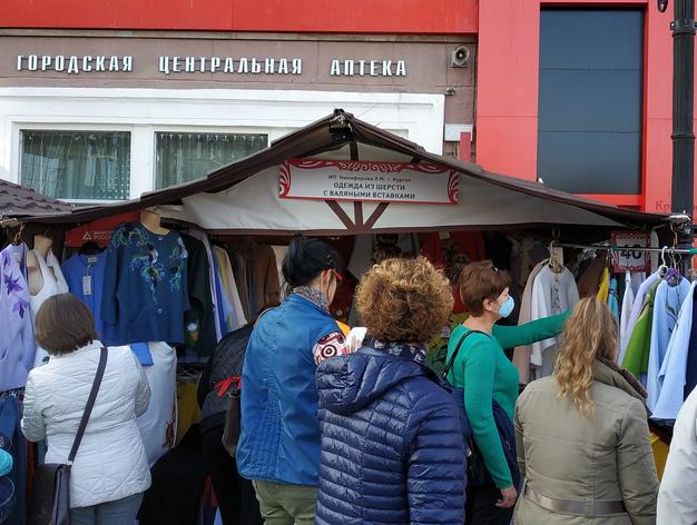 Ярмарка в центре Екатеринбурга