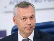 Еще ниже спустился Андрей Травников в рейтинге упоминаемости губернаторов РФ