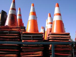 На Северном шоссе достраивают развязку, движение снова ограничено