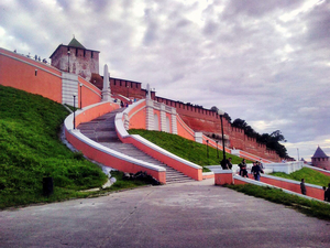 Контракт заключен. Чкаловскую лестницу в Нижнем Новгороде отремонтируют за 66 млн