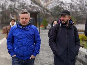 Дизайнер Артемий Лебедев посетил Красноярск и Дивногорск