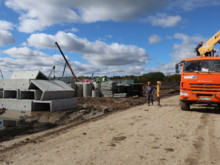 Достроить канализацию в челябинском технопарке «Малая Сосновка» обещают к декабрю