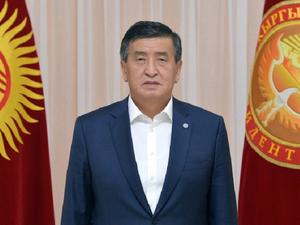 «Я не держусь за власть». Президент Киргизии объявил об отставке