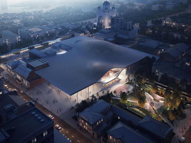 Новый зал филармонии в Екатеринбурге построят позже заявленного срока