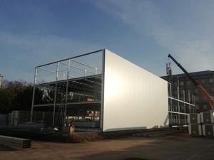 Завершилась подготовка площадки для строительства нового терминала в Толмачево