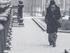 Минусовая температура и снегопады придут в Новосибирск на выходных