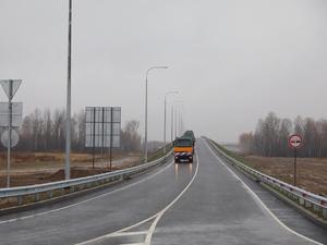 Губернатор торжественно открыл движение  по дороге в Неклюдово-Золотово