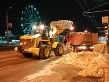 В Челябинске оборудовали специальную свалку для снега