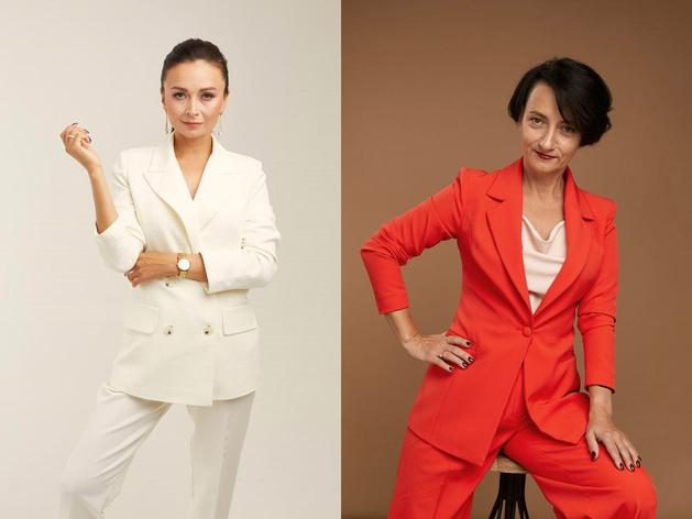 Нелли Глинястикова и Елена Лефтерова