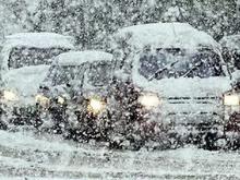 Красноярск ожидают снегопады, дожди и гололедица в начале ноября
