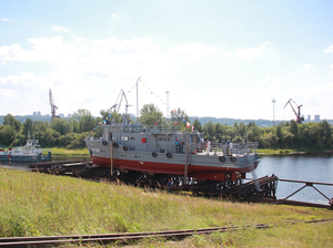 Еще одно судно — на Северном флоте. ВМФ получил нижегородский спасательный катер