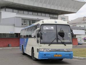 Часть автобусных рейсов из Красноярска в Железногорск отменена