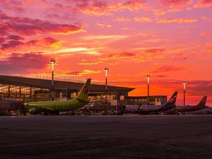 Международный пассажиропоток красноярского аэропорта вырос почти в четыре раза
