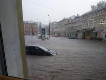 Компенсация — 200 тыс. Нижегородец засудил мэрию за потоп на ул. Алексеевской