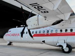 «КрасАвиа» получила два самолета ATR 72-500
