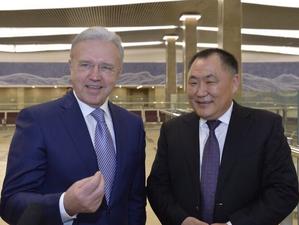 Шолбан Кара-оол напомнил Красноярскому краю о «спорных землях»