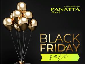 Фитнес-клуб Panatta Sport объявляет старт распродажи в честь «Черной пятницы»