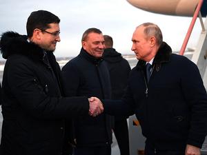 Программа насыщенная. Владимир Путин прилетел в Саров с рабочим визитом