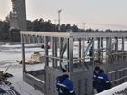 В Челябинске остановили строительство катка у памятника Курчатову из-за жалоб