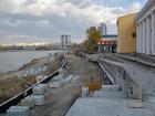 Набережную реки Миасс напротив цирка будут строить еще почти год