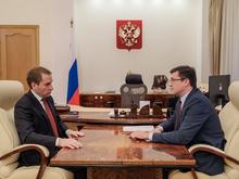 Александр Козлов и Глеб Никитин обсудили реализацию национального проекта «Экология»