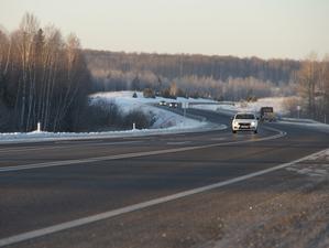 Капремонт трассы Р-255 «Сибирь» в Красноярском крае закончен
