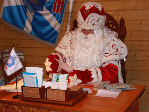 В регионе резко упал спрос на Дедов Морозов