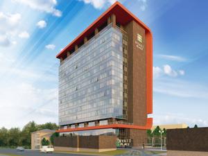 Второй Hyatt в Екатеринбурге готовится к сдаче