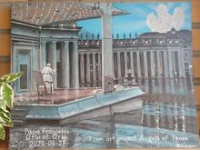 Папа Римский поблагодарил красноярцев за подаренную картину «Граду и Миру»