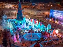 Ледовый городок в Челябинске один из самых дорогих на Урале