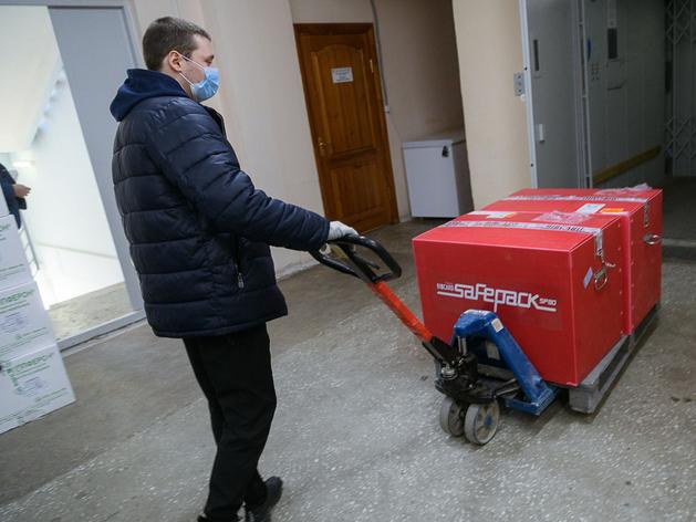 В Екатеринбург прибыла вакцина от COVID-19