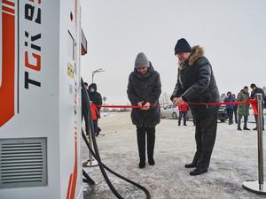 Первая зарядная станция для электромобилей открыта в области