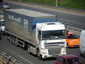 Ограничения на движение большегрузов в Красноярске начнут действовать завтра