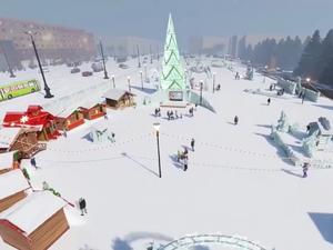 В ледовом городке на площади Революции откроется новогодняя ярмарка