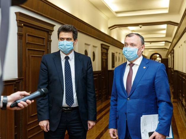 Александр Высокинский и Алексей Орлов