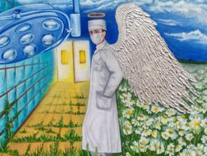 «Ангелы Мира» украсят своими картинами красноярские больницы